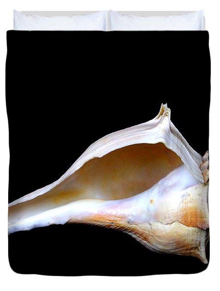 Duvet Cover featuring the photograph Seashell 2 by Deniece Platt