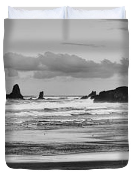 Seaside By The Ocean Duvet Cover by James Heckt