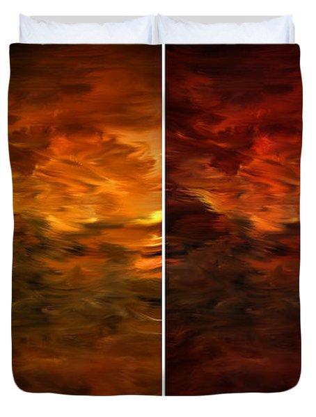 Seasons Change Duvet Cover by Lourry Legarde