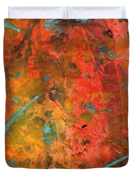 Seasons Of Joy Duvet Cover by Angela L Walker