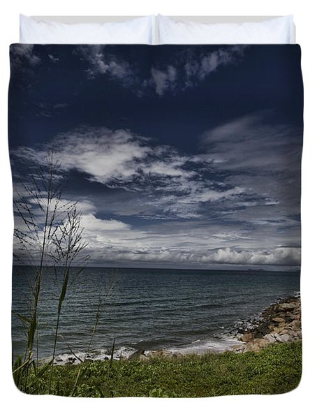 Secluded Cove Duvet Cover by Douglas Barnard