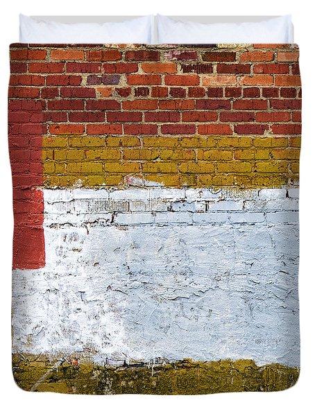 Sediments Duvet Cover by Elena Nosyreva