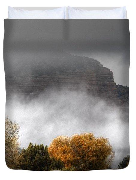 Sedona Fog Duvet Cover