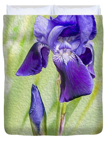 Seeing Purple Duvet Cover