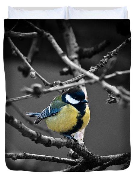 Selective Bird Duvet Cover