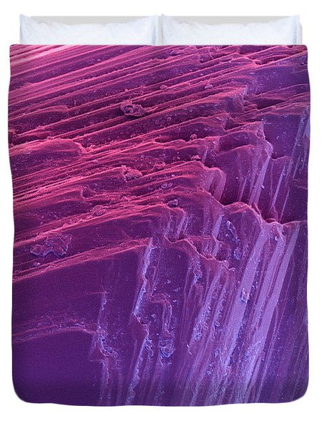 Sem Of A Diamond Duvet Cover by Ted Kinsman