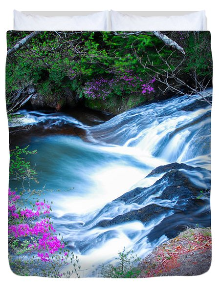 Serenity Flowing Duvet Cover