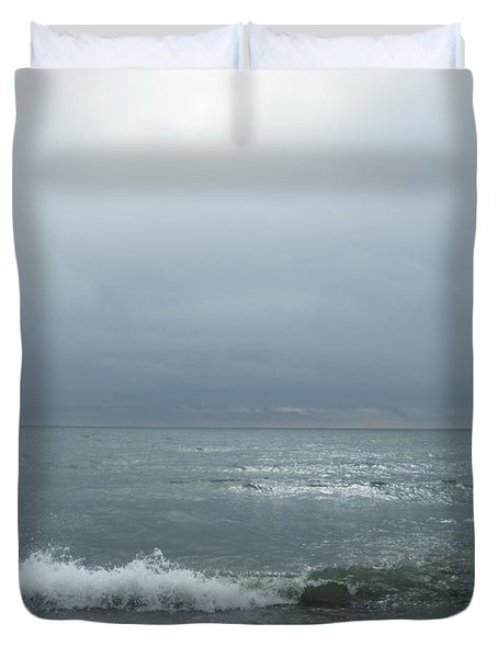 Serenity Duvet Cover by Peggy King