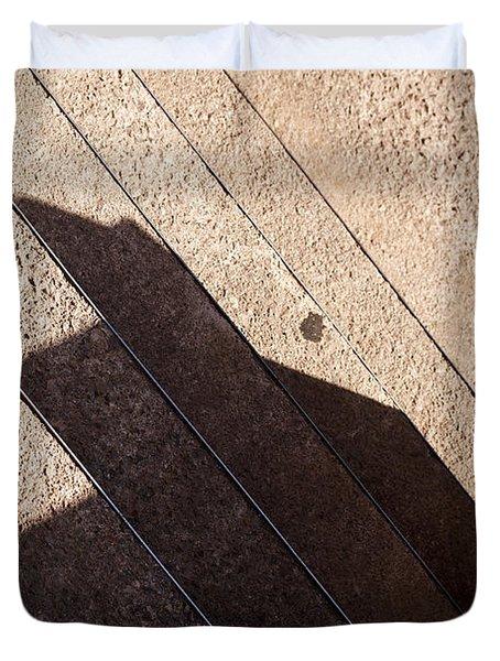 Shadow Stair Duvet Cover