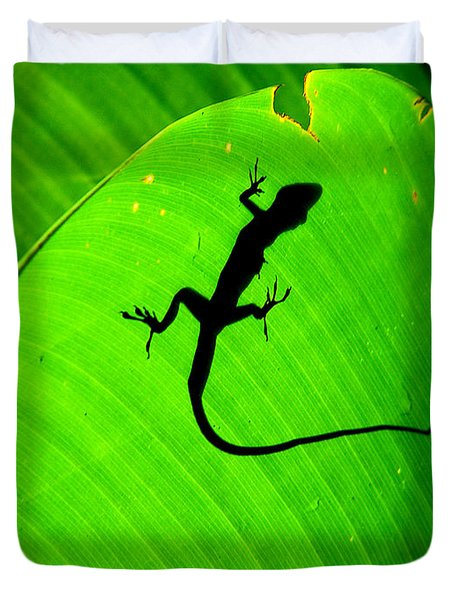 Shadowlizard Duvet Cover