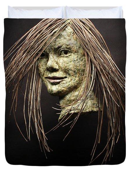 Shana Duvet Cover by Adam Long