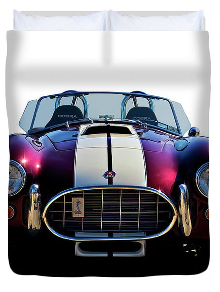 Shelby's Shadow Duvet Cover by Douglas Pittman