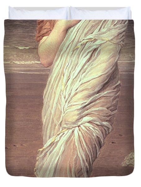 Shells  Duvet Cover by Albert Joseph Moore