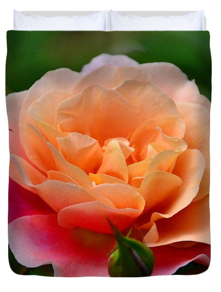 Sherbet Rose Duvet Cover