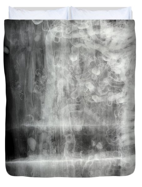 Shipworms Duvet Cover by Ted Kinsman