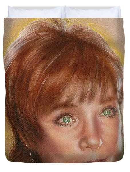 Shirley Duvet Cover by Timothy Scoggins