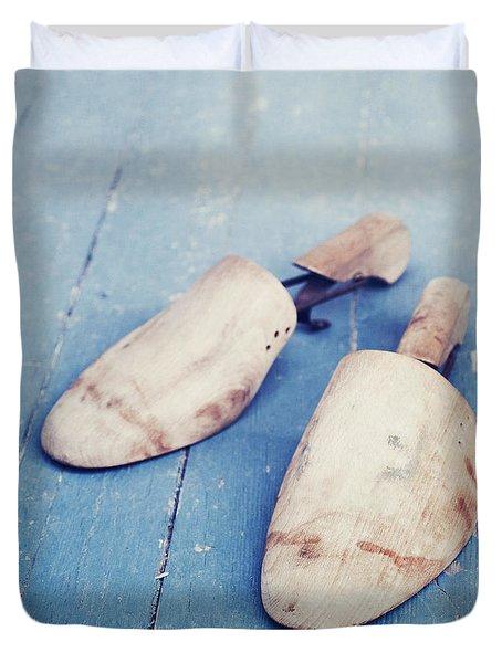 shoe trees II Duvet Cover by Priska Wettstein