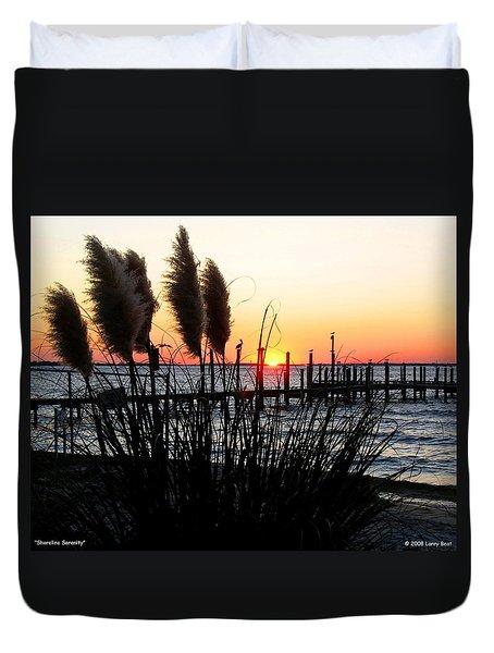 Shoreline Serenity Duvet Cover