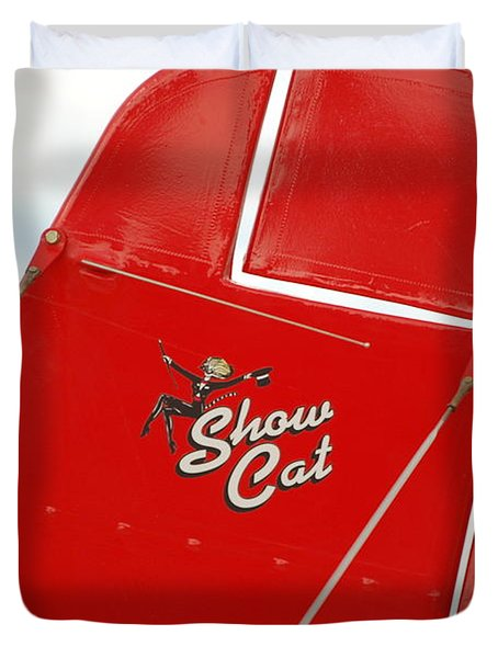Show Cat Duvet Cover