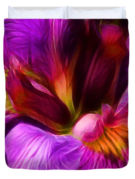 Silk And Satin Duvet Cover by Judi Bagwell