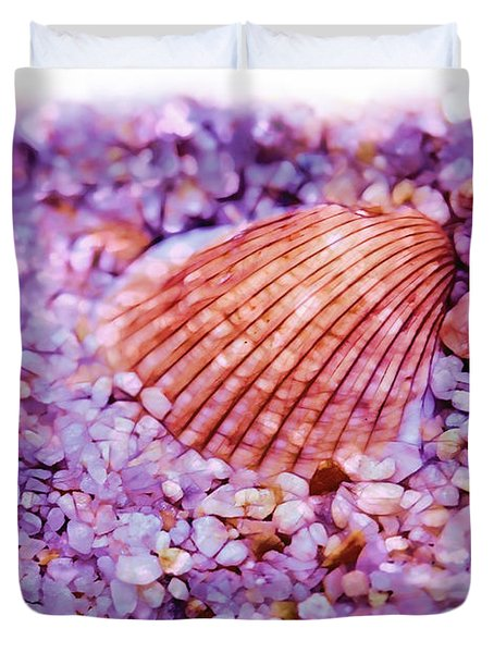 Silver Bells And Cockle Shells . . . Duvet Cover by Judi Bagwell