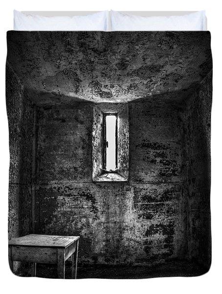 Sinner's Tale Duvet Cover by Evelina Kremsdorf