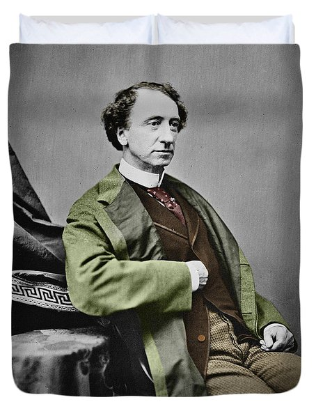 Sir John A. Macdonald Duvet Cover by Andrew Fare