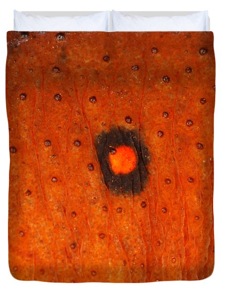 Skin Of Eastern Newt Duvet Cover