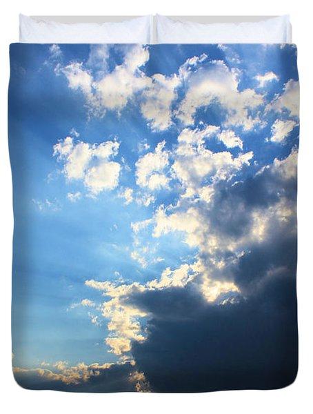 Sky Drama Duvet Cover by Kristin Elmquist