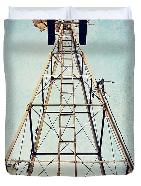 Sky High Duvet Cover