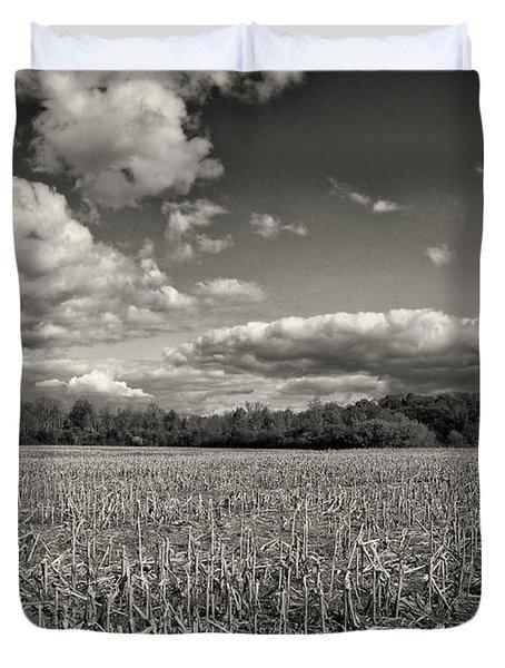 Skyway Duvet Cover by Rachel Cohen