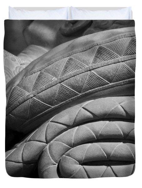 Sleep Eternal Duvet Cover by Lisa Knechtel