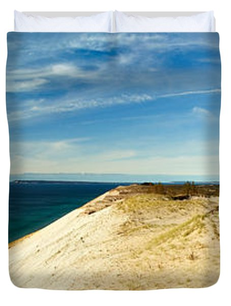 Sleeping Bear Dunes Duvet Cover