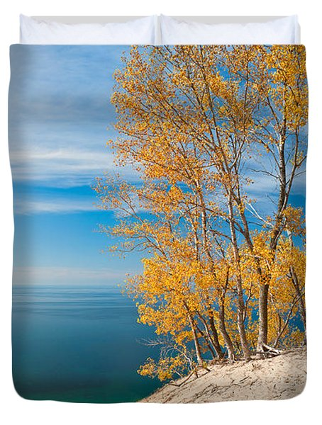 Sleeping Bear Dunes Vista 001 Duvet Cover