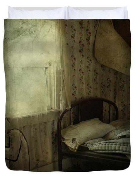 Sleepless Prayers  Duvet Cover by Jerry Cordeiro