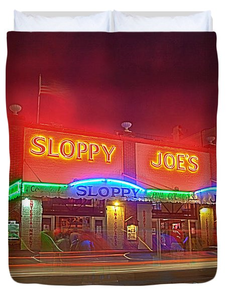 Sloppy Joes Duvet Cover
