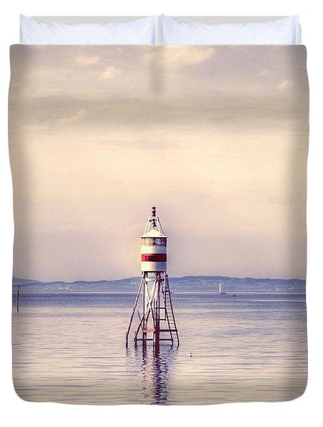 Small Lighthouse Duvet Cover by Joana Kruse