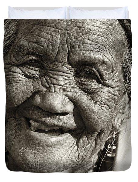 Smile Duvet Cover by Skip Nall