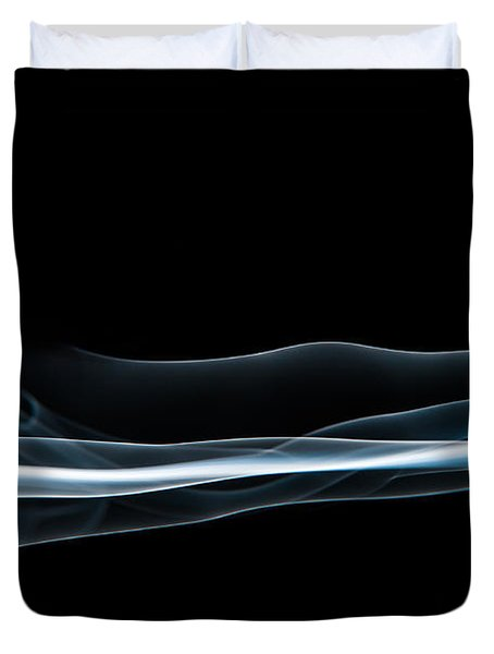 Smoke-4 Duvet Cover by Larry Carr