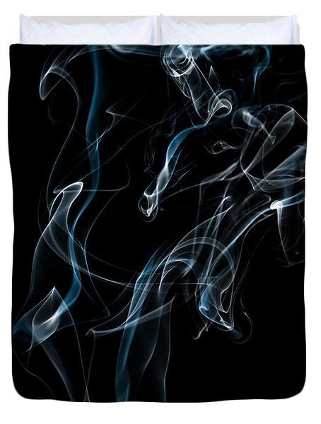 Smoke-6 Duvet Cover