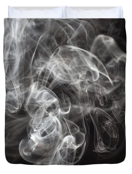 Smoke Swirls  Duvet Cover
