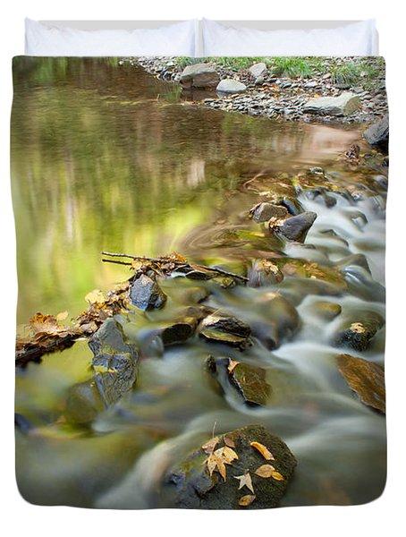 Smoky Mountain Streams Iv Duvet Cover