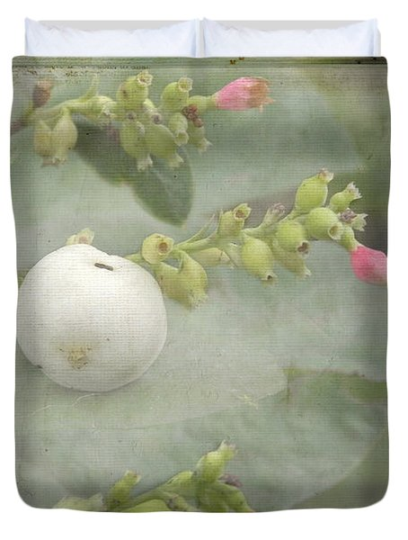 Snowberry Tales Duvet Cover by Steppeland -