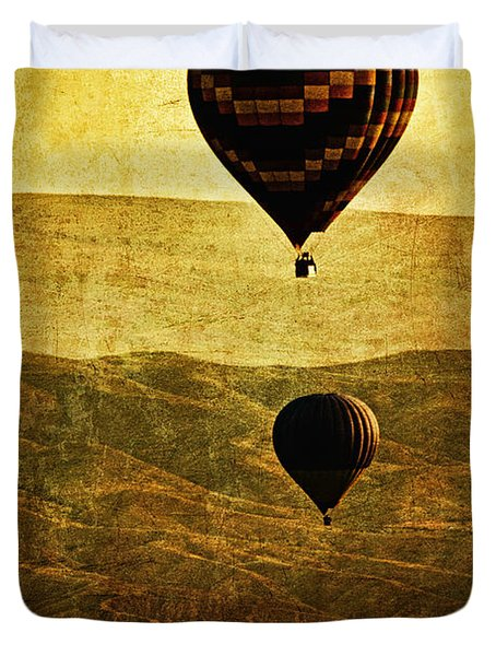 Soaring Heights Duvet Cover