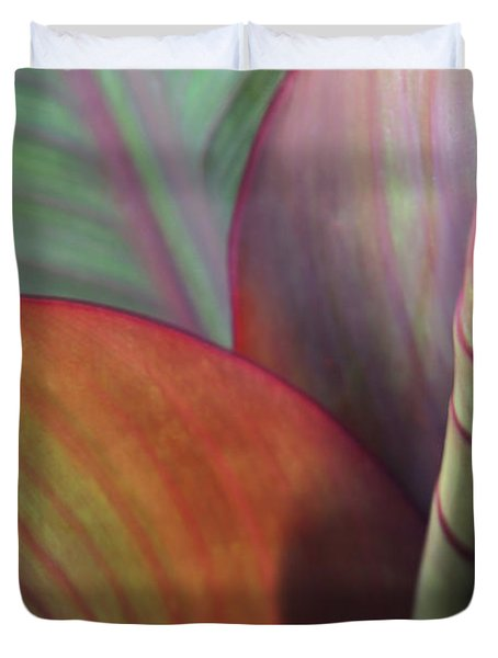 Soft Focus Petal Duvet Cover