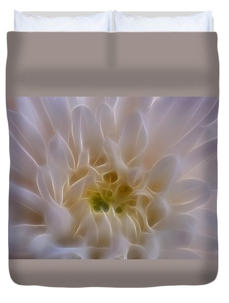 Soft Light Duvet Cover by Ivelina G