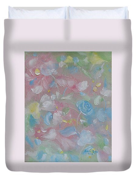 Softly Spoken Duvet Cover by Judith Rhue