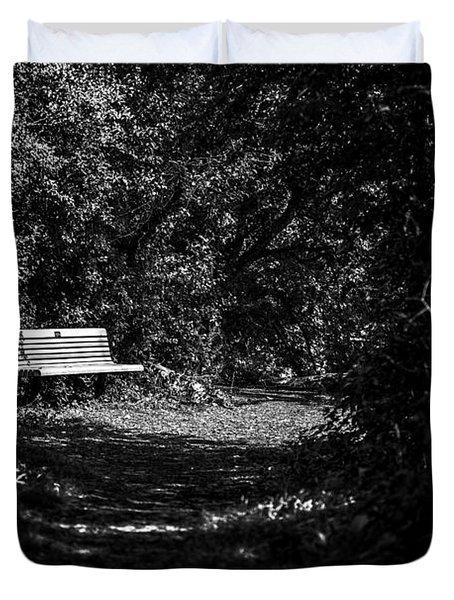 Solitude Duvet Cover by CJ Schmit