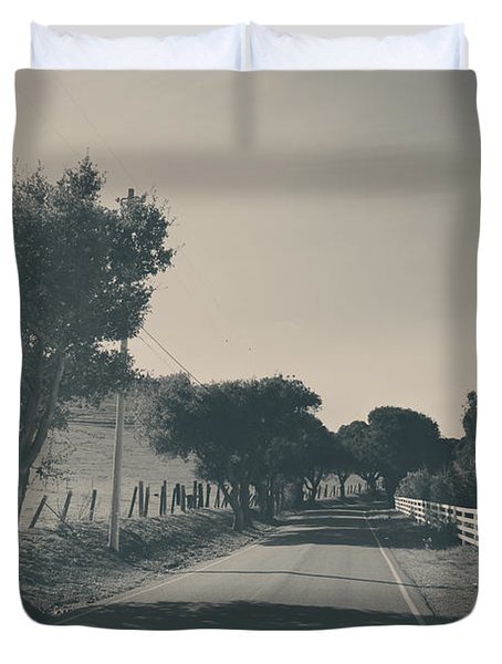 Somethin' About You And I Duvet Cover by Laurie Search