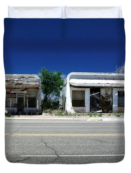 Duvet Cover featuring the photograph Somewhere On Hwy 285 Number Two by Lon Casler Bixby